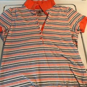 Stripped orange shirts size m 🌸ANY 4 items $16
